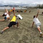 Mobilidade e fortalecimento dos músculos dos pés para o esporte.