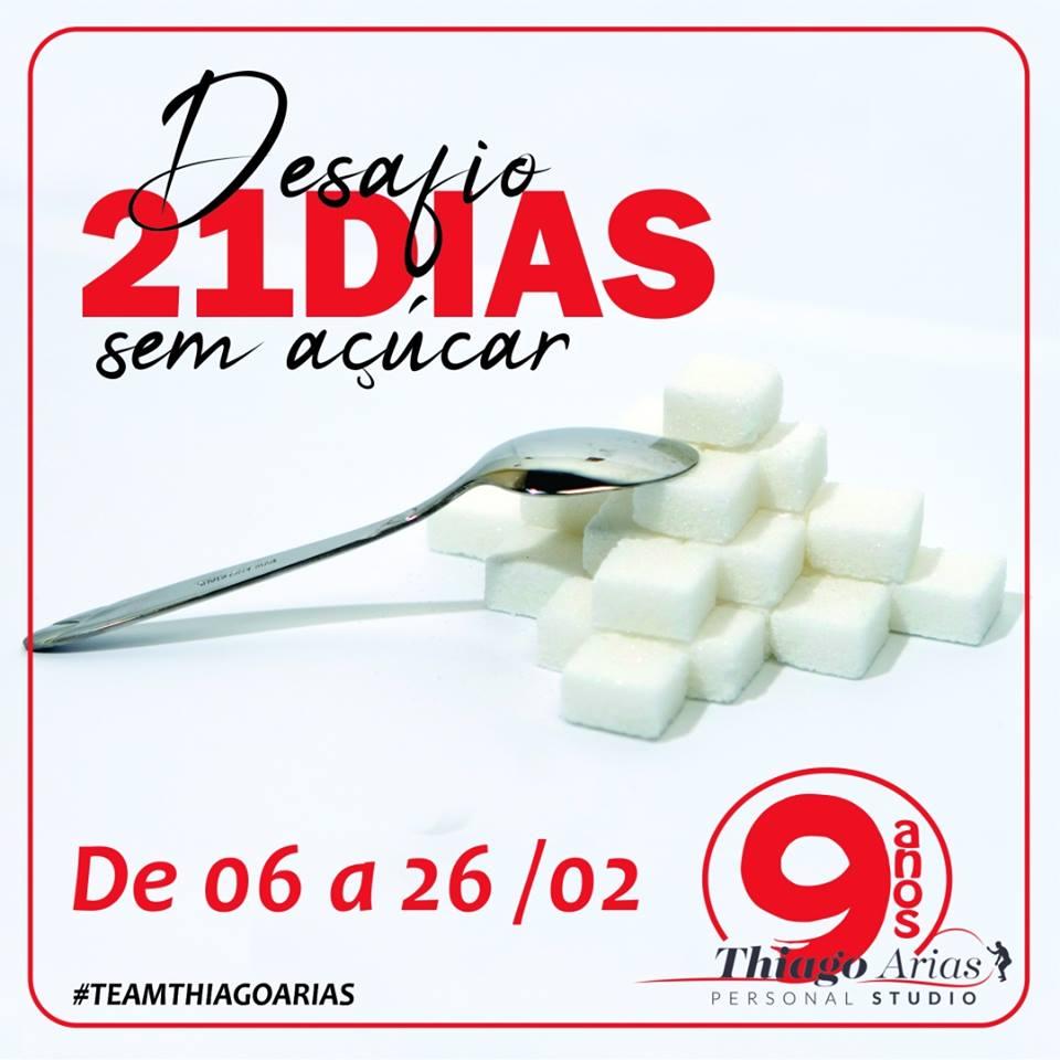 Desafio 21 Dias sem Açúcar está de volta :D